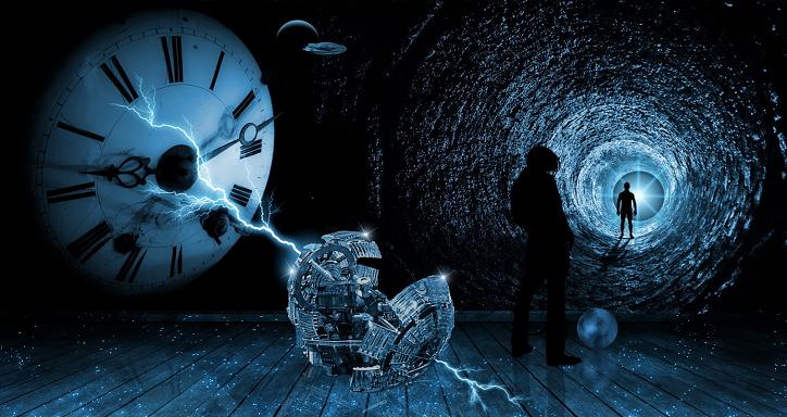 Zeitreise, Mars-Kolonie und politische Kontrolle der menschlichen Bevölkerung