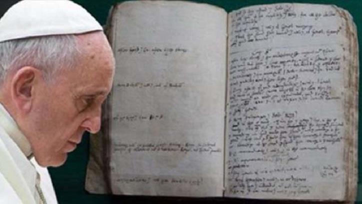 Es wurde ein altes Manuskript der Bibel entdeckt, das beweist, dass es sich um eine Fiktion handelt