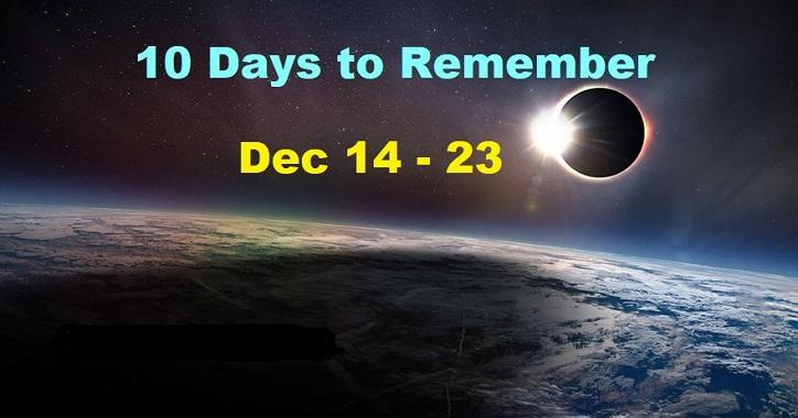 10 Tage zum Erinnern. Unser neues Zeitalter
