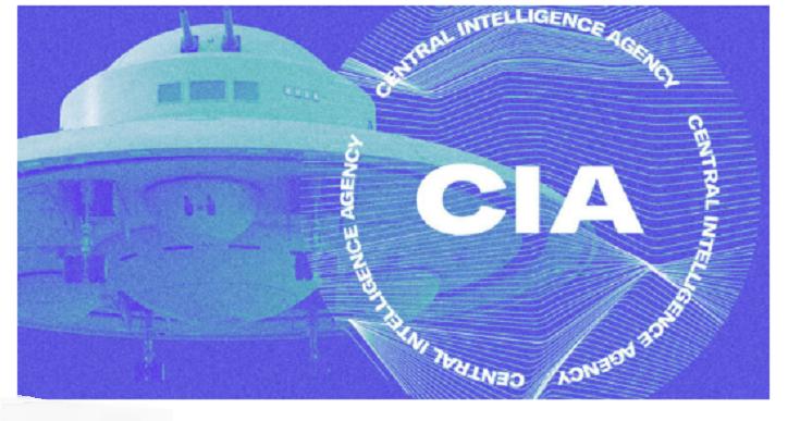 DIE FREIGEGEBENEN UFO-DOKUMENTE DER CIA SIND JETZT ALLE ONLINE VERFÜGBAR