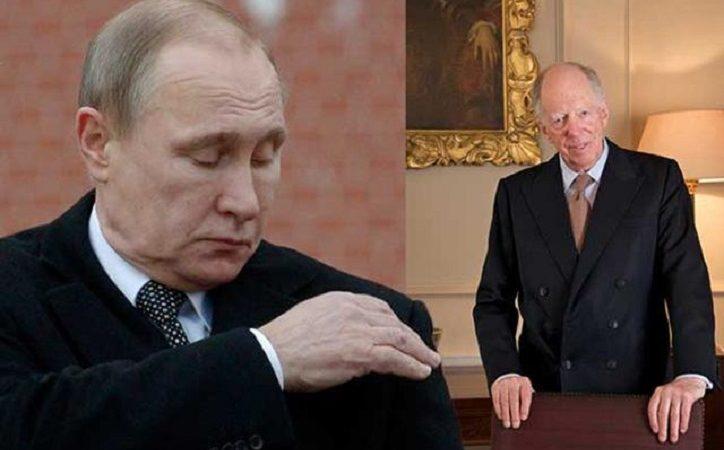 """Putin kündigt völlige Unabhängigkeit vom """"Rothschild-kontrollierten"""" US-Dollar an"""