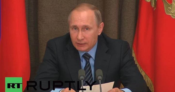 Putin erklärt den Krieg gegen die Globalisten: Vertreibt GVO- und westliche pharmazeutische Produkte – Sie werden meine Leute nicht vergiften, sich selbst vergiften!