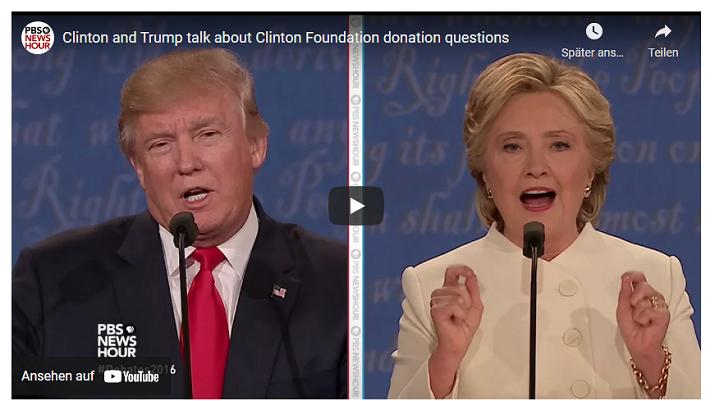 Die Clinton Foundation und Österreich