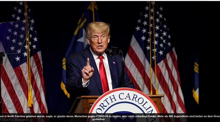 Trump erwog, Covid-infizierte Amerikaner zu Beginn der Pandemie in Guantanamo Bay unter Quarantäne zu stellen, behauptet Buch