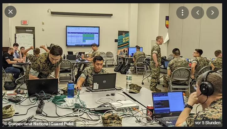 Die Nationalgarde bereitet sich auf einen großen Cyberangriff vor, der Versorgungsunternehmen in den ganzen USA lahmlegen würde: Truppen gehen während einer zweiwöchigen Trainingsübung einen massiven simulierten Verstoß an – nachdem der Hack der Colonial Pipeline die Treibstoffversorgung der Nation in die Knie gezwungen hat