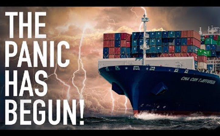 Panik auf See: 100.000 Seeleute stecken auf Frachtschiffen fest, während die globale Schifffahrtskrise immer schlimmer wird! – Episches Ökonomen-Must-Video