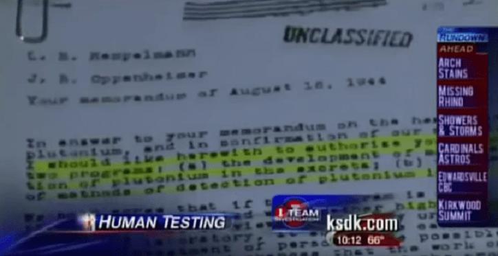 Freigegebene Dokumente Enthüllen Völkermord Durch Chemtrail-Tests