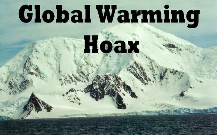 Daten Zur Globalen Erwärmung Von Der Regierung Gefälscht