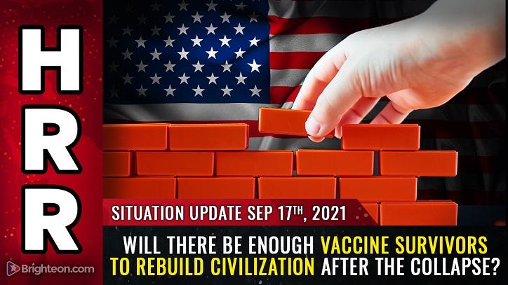 Nach dem GENOCIDE: Wird es genug IMPFÜBERLEBENDE geben, um die Zivilisation wieder aufzubauen?