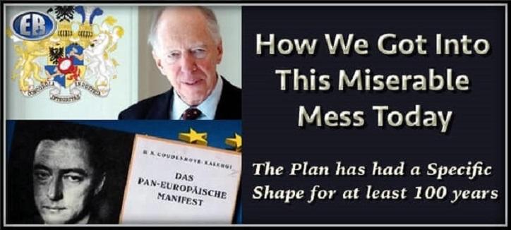Die Rothschild-Dynastie Will Die Entvölkerungsagenda Der Kalergi Erfüllen