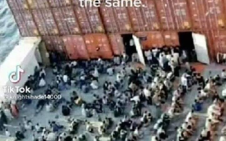 Verdächtige Lastkähne und Frachtschiffe vor unserer Küste! Wartet eine chinesische Invasion in Frachtschiffen vor den US-Küsten? – Muss Video