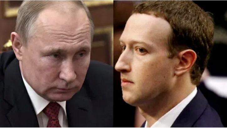 Putin macht Facebook aufmerksam: Hör auf, Pädophilie zu fördern, oder ich zerschmettere dich