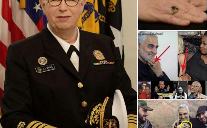 Das Geheimnis von Soleimans rotem Ring: Ein Freimaurerring, der auch von anderen Eliten getragen wird